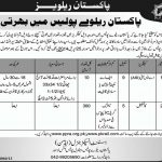 ASI and Constable Jobs in Pakistan Railway Police – Lahore