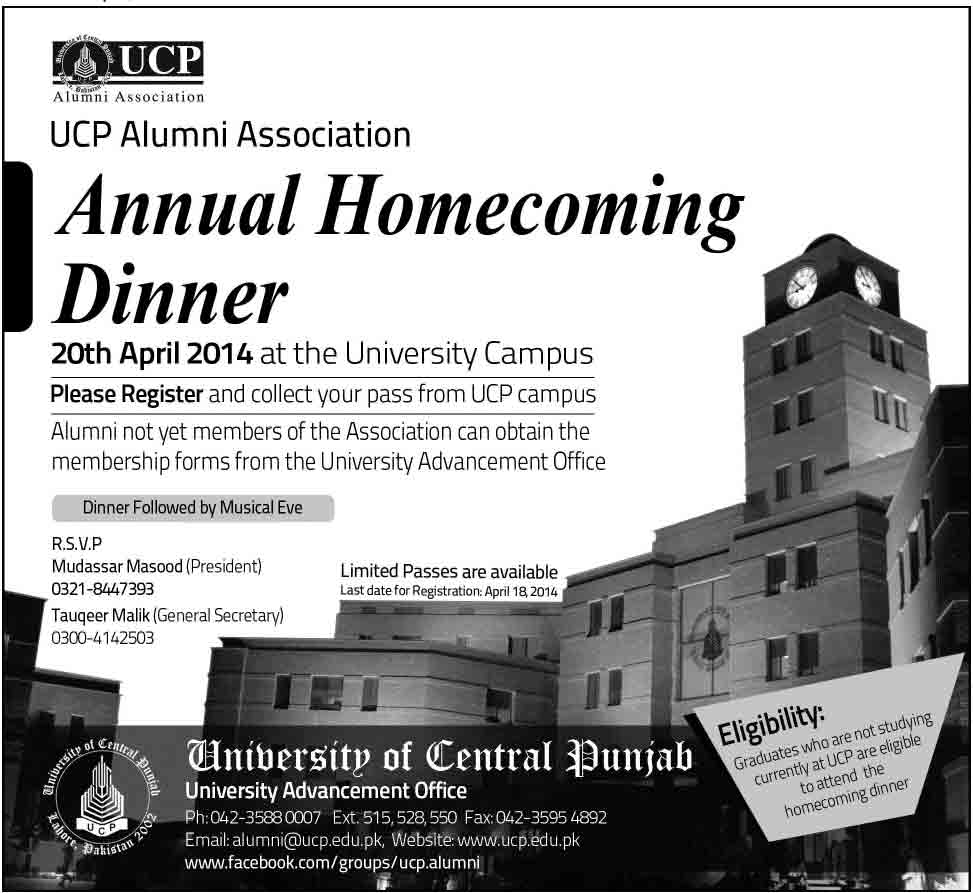 UCP-Annual-Home-Dinner