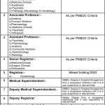 University College of Medicine & Dentistry Lahore Vacant Positions