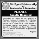 sir syed university Jobs 2014 150x150 Sir syed University of Engineering & Technology Convocation 2014