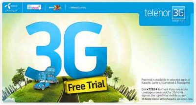 3G-Telenor-Packages