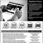 MS Health Informatics Admissions in Comsats Institute of Information Technology