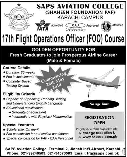 Saps-Aviation-Admissions-2014