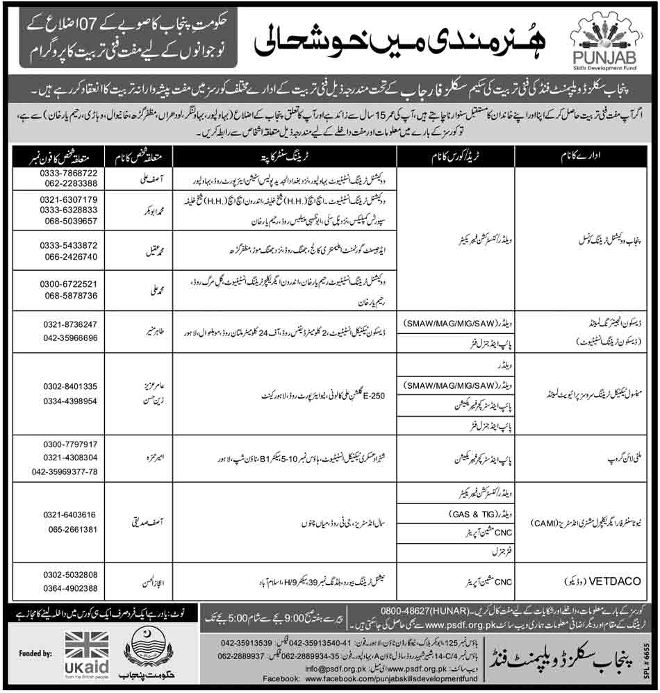 free education program in punjab Punjab School Education Department Announced New Jobs 2014