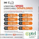 PTCL 3G Evo Introducing Monthly Internet Packages Details