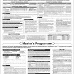 Quaid e azam university admission 150x150 Quaid I azam Postgraduate Medical College Admissions Entry Test