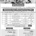 Govt college for elementary teachers Faisalabad Admissions 2016