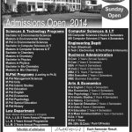 fuuast lahore admissions 2014 e1411724009625 150x150 Sir syed University of Engineering & Technology Convocation 2014