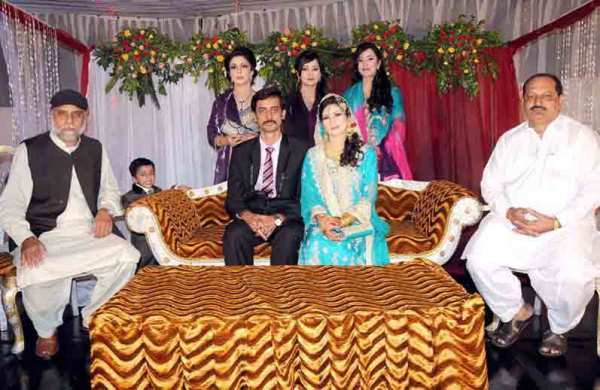 Tariq Mehmood Son Yasir Marriage Group Photo
