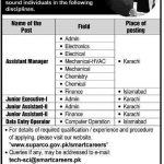 suparco jobs 2014 150x150 Junior Officer Jobs in State Bank of Pakistan 2016