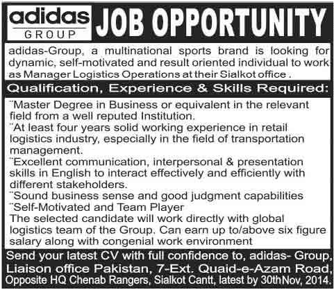 Adidas-Jobs-in-sialkot