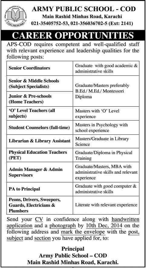 Army-Public-School-Jobs-2014