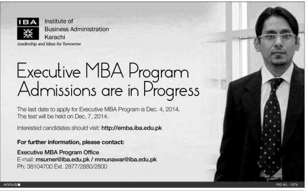 EMBA-Admissions-in-Karachi-2015