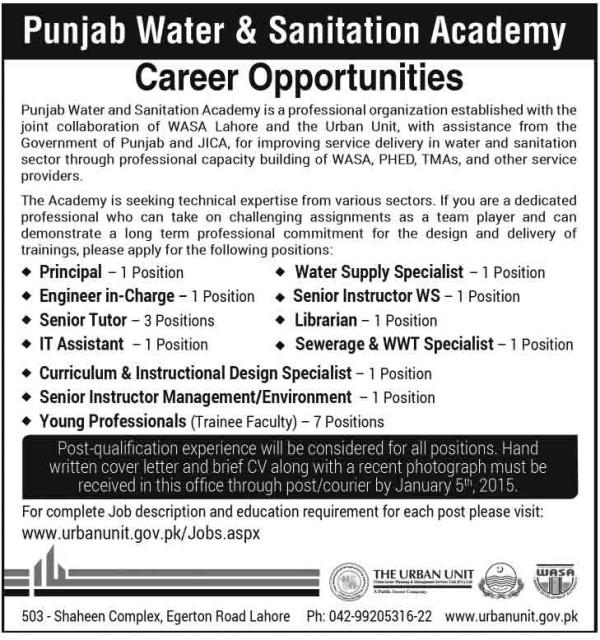 Wasa-Lahore-Jobs