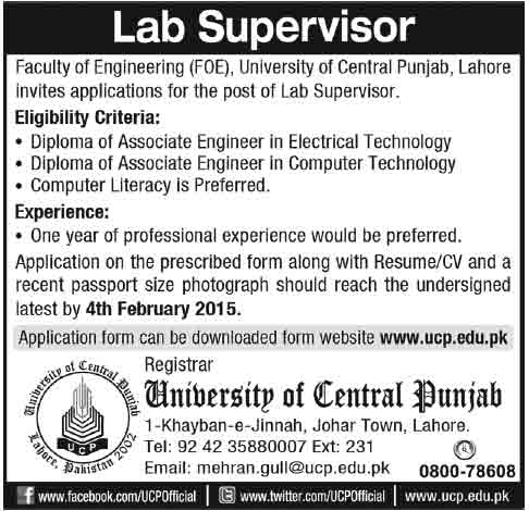 ab-Supervisor-Jobs-in-Laho