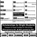 Grafton College Admissions in Islamabad Campus 2015