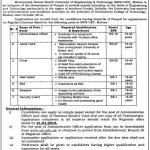 MNS UET Multan Jobs 2015 University of Engineering