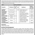 Strategic Media Communication Cell Jobs in Islamabad