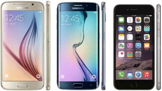 Quick Comparison Samsung Galaxy S6 vs. iPhone 6