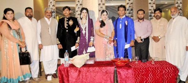 Muhammad Arshad Butt Daughter Nikkah Ceremony Group Photo