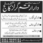 Dar-E-Arqam school Sheikhupura Job Opportunities
