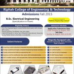 riphah faisalabad admission e1436855320674 150x150 Riphah International University MBBS & BDS Merit List Announced