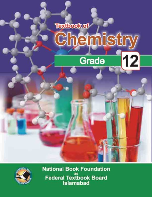 12th class chemistry Textbook 2019 by Federal Board Islamabad