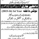 Admission Open in Govt College of Technology sangla hill