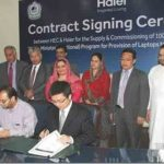 PM Laptop Scheme Phase 2 Contract with Haier for Supply Laptops