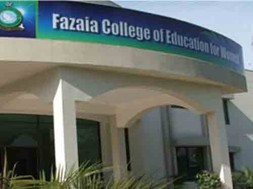 Fazaia College of Education for Women Lahore Jobs 2017