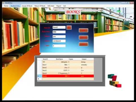 Design Of Library Management System Project In Java