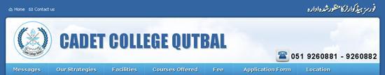 Cadet-College-Qutbal-Admission
