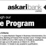 Askari Bank Management Trainee Program 2016 Application Form