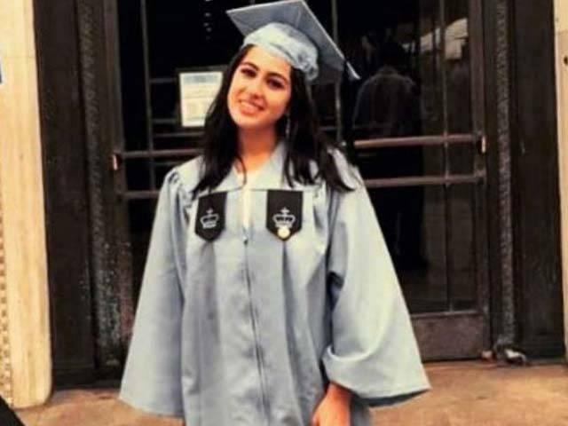 Sara Ali Khan Graduate