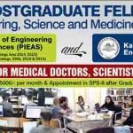 PAEC Postgraduate Fellowship Program 2016 at PIEAS KINPOE