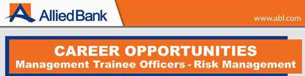 Allied Bank Management Trainee Officer Jobs 2017 Apply Online Last Date