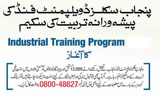 psdf-Industrial-training-program