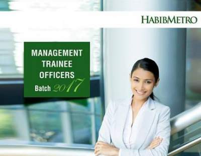 Habib Metropolitan Bank Management Trainee