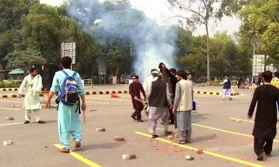PU Lahore Student Fight