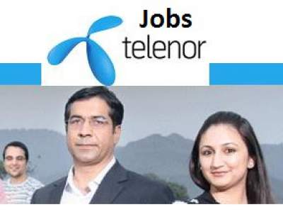Telenor Pakistan Job Opportunities