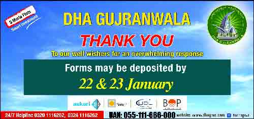 DHA Gujranwala Balloting Date 2018 Draw Result Announced