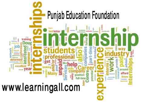 Punjab Education Foundation PEF Internships 2018 Eligibility Procedure to Apply