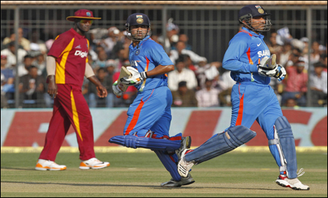 India clinch West Indies ODI series