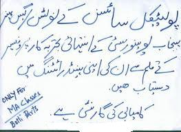 Punjab University MA Political Science Syllabus