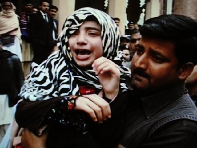 Amina tarar Handed to French mother