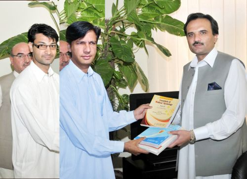 Award Ceremony and Presentation of Books by Ayubians