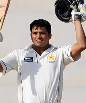 Azhar Ali hits Test Century against England