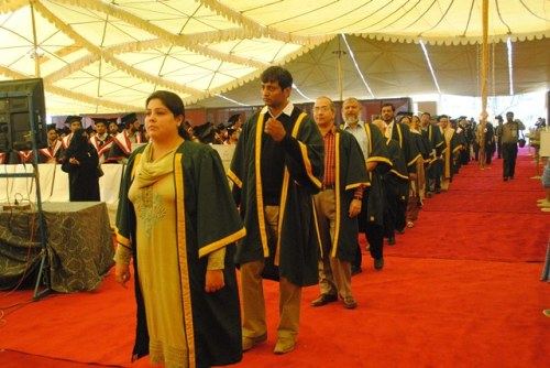 university of karachi convocation Porf.