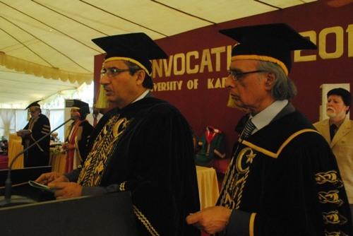 university of karachi convocation-a