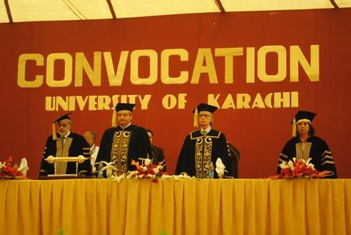 university of karachi convocation setting